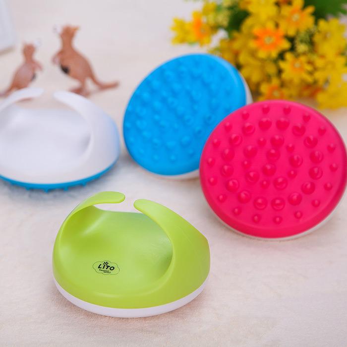 Soft Anti Cellulite Body Massager Brush Slimming Relaxing Scrub Massager Bath Shower Spa 4 Color Random