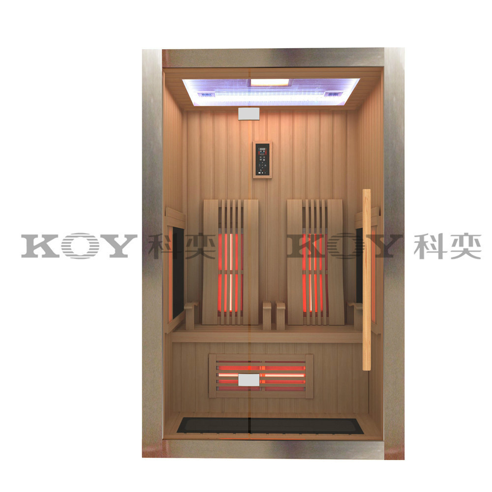 2015 High quality hot sale infrared sauna room relax fir sauna B02-L4