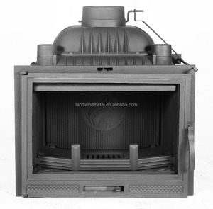 Factory direct price wood burning stove insert with vent