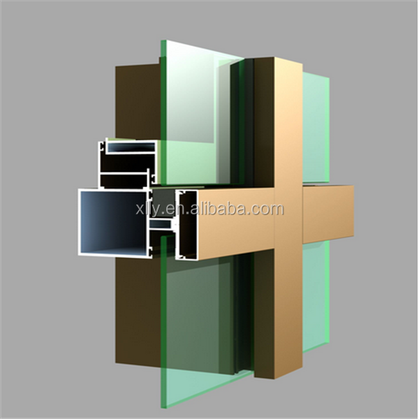 Aluminum curtainwall systems curtain wall structural design