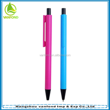 Hotel used slender plastic ball pen promotional