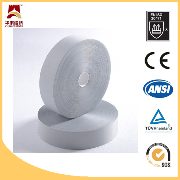 Metal nylon hight reflective tape safety