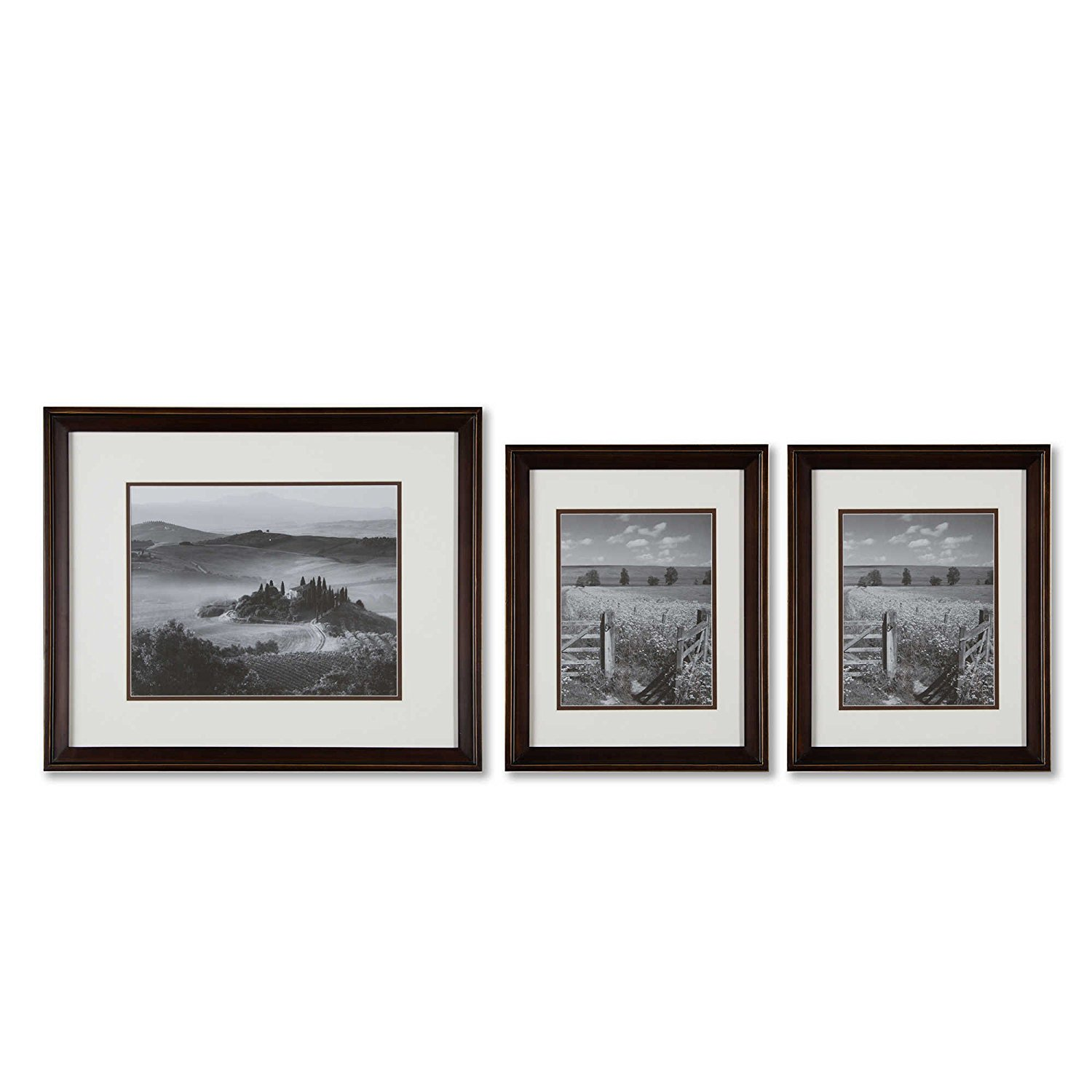 Cheap frame gallery set find frame gallery set deals on line at get quotations real simple gallery 3 piece photo frame set for wall in bronze jeuxipadfo Image collections