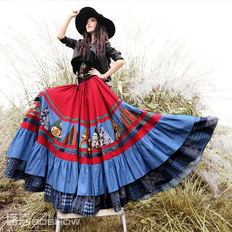 Extra Long Skirt 79