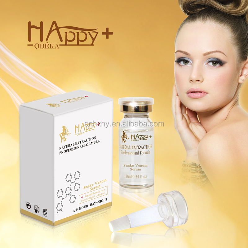 With good quality Face Lift Serum Free Sample Available Natural Best Skincare organic Happy+ Synthetic Peptide Serum