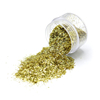 Popular Manicure Nail Art Decoration Nail Art Glitter Flitter Holographic Tinsel Gold Glitter Strip Flakes Shaped