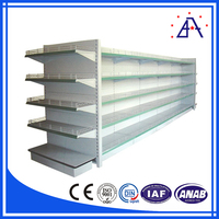 Aluminum Profile Extrusion Grocery Store Shelf