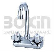 "4""Centers Wall-mounted Commercial Faucet"