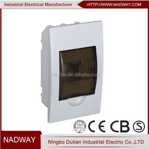 IP40 waterproof mcb 4way distribution board