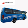 Comfortable Luxury New Passenger Electric Sightseeing Bus Tourist City Bus