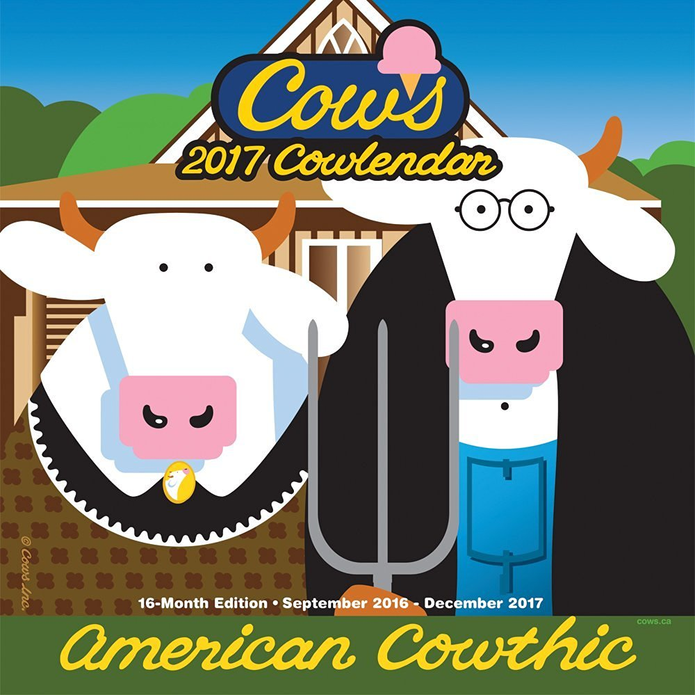 Cows Creamery Wall Calendar