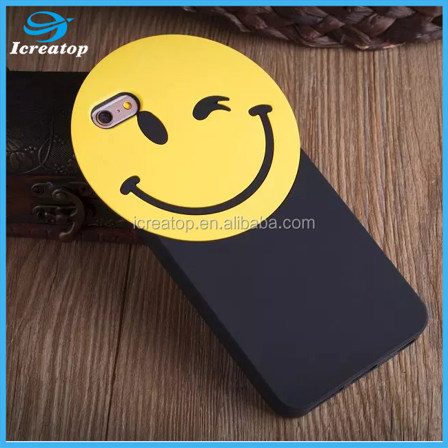 wholesale manufacturer 3D cartoon Lovely cute soft silicone cell phone case for iphone