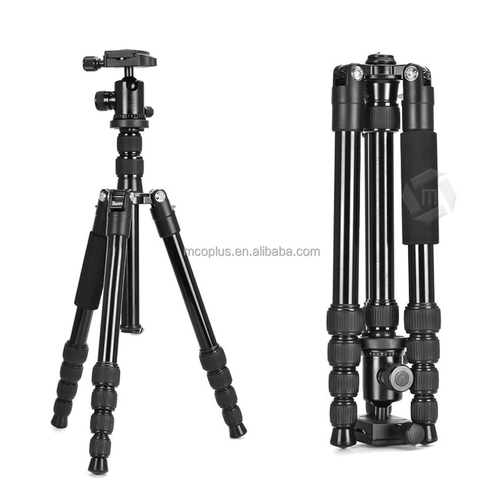 Mcoplus MT-25L + N-1 Professional Portable Magnesium Aluminum Photo Video Tripod & Monopod in One Load Capacity up to 12KG