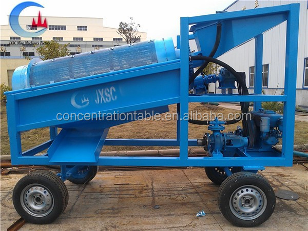 Cool Gold Tools Portable Wash Plants made by JXSC mine machinery factory
