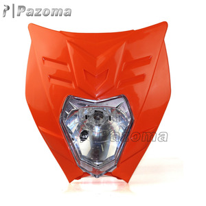 Pazoma Streetfighter Street Bike Motorcycle Headlight Fit For XR CRF DRZ RMZ WR YZ 250