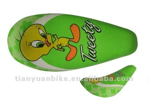 HOT SALE colored kids bicycle bike saddle bicycle parts