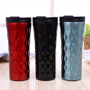Free Sample Best Quality Custom LogoFactory Directly Sale Stainless Steel Metal Coffee Cup With Holder With Lid