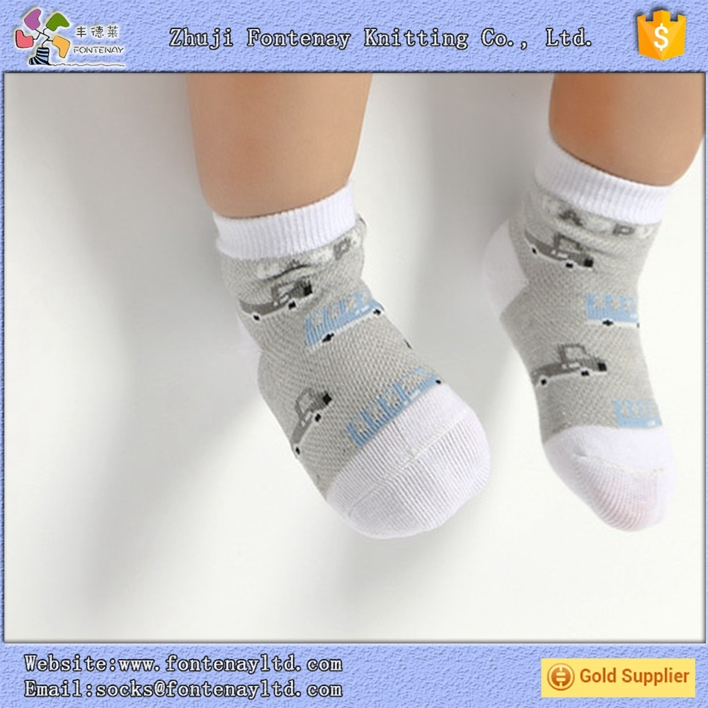 summer knitting machine pleasantly cool thin cotton child bamboo sock