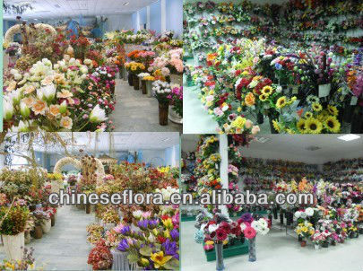 wholesale cheap selling artificial stain 7 heads orchid flower