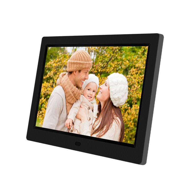Multifunctional 12 Lcd Digital Photo Frame 1280*800 High Resolution Picture Frame With Wireless Remote Control Built-in Speaker Good Reputation Over The World Digital Photo Frames