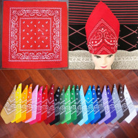 22colors paisley stock 100% cotton bandana