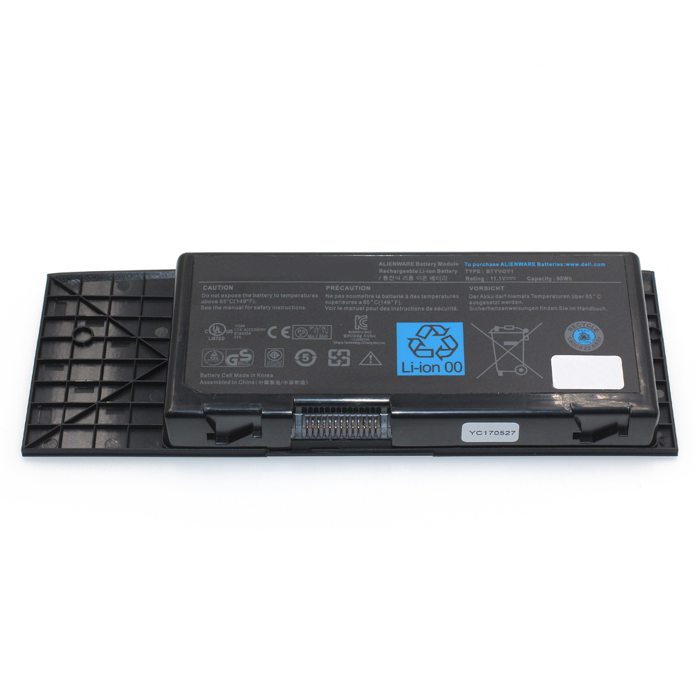 Rechargeable Batteries 14.8v 86wh Laptop Battery 2F8K3 For Dell Alienware 17 17x M17x R5