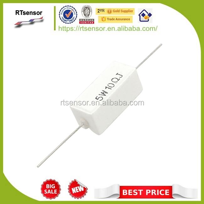 15/pcs axial Ciment C/éramique Puissance r/ésistance 47/K Ohm 5/W 5/% de tol/érance