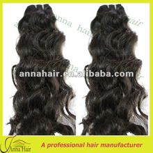 Wholesale 100% brazilian human hair wet and wavy weave