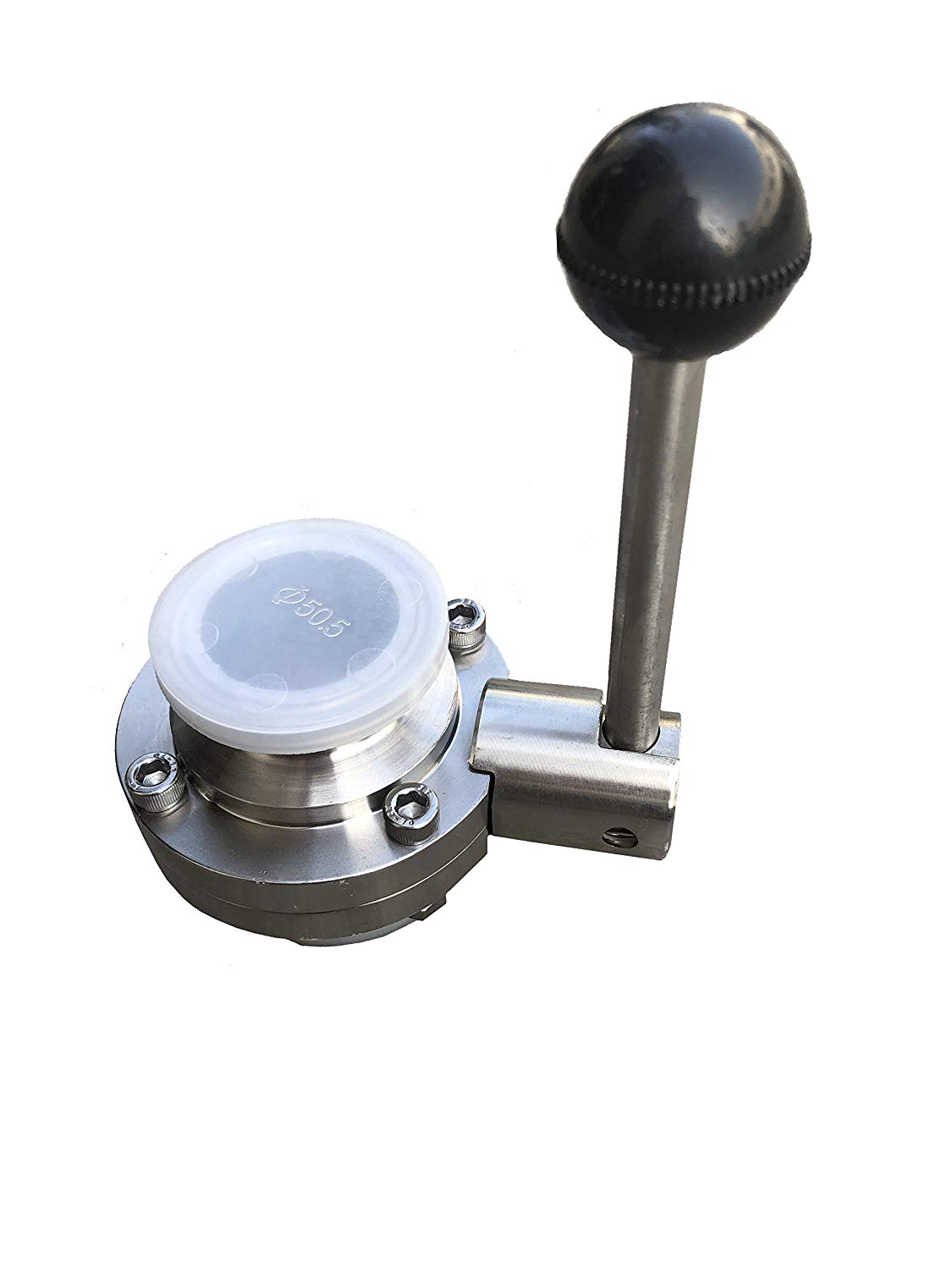 for 4 Valves Silicone Seat w// Dixon Sanitary B5102 Butterfly Valve Repair Kit Bushings 2