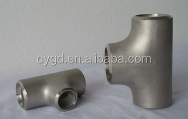Long radius hot tapping split gas pipe fitting tee