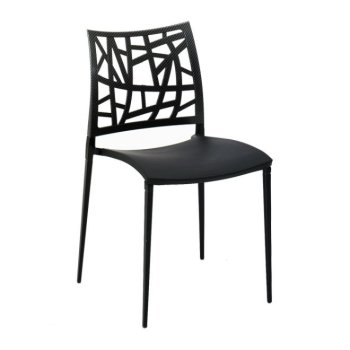 Plastic Dining Chair With Pc Back Neptun