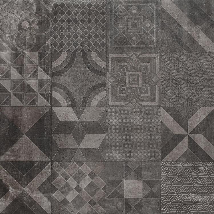 gris oscuro artstico azulejo rstico fabricante de cermica de pared aspecto mate acabado baldosas de