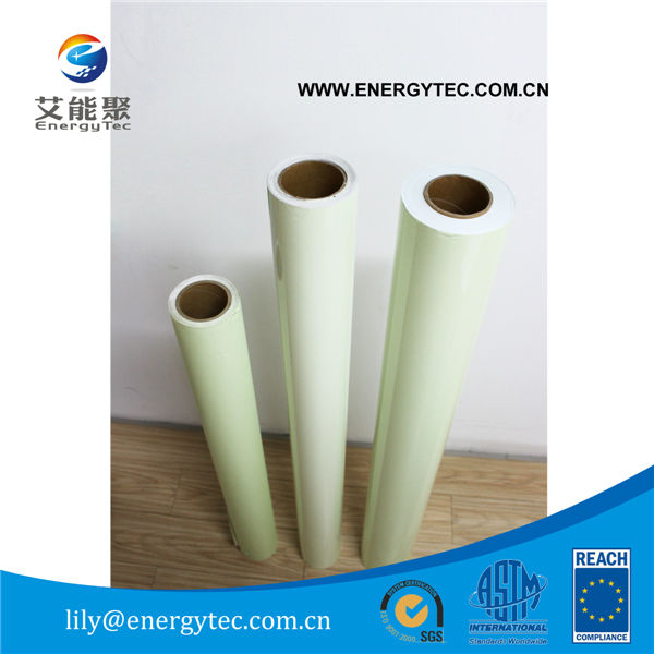 Self adhesive photoluminescent vinyl for evacuate plan printing 1.22*25M1