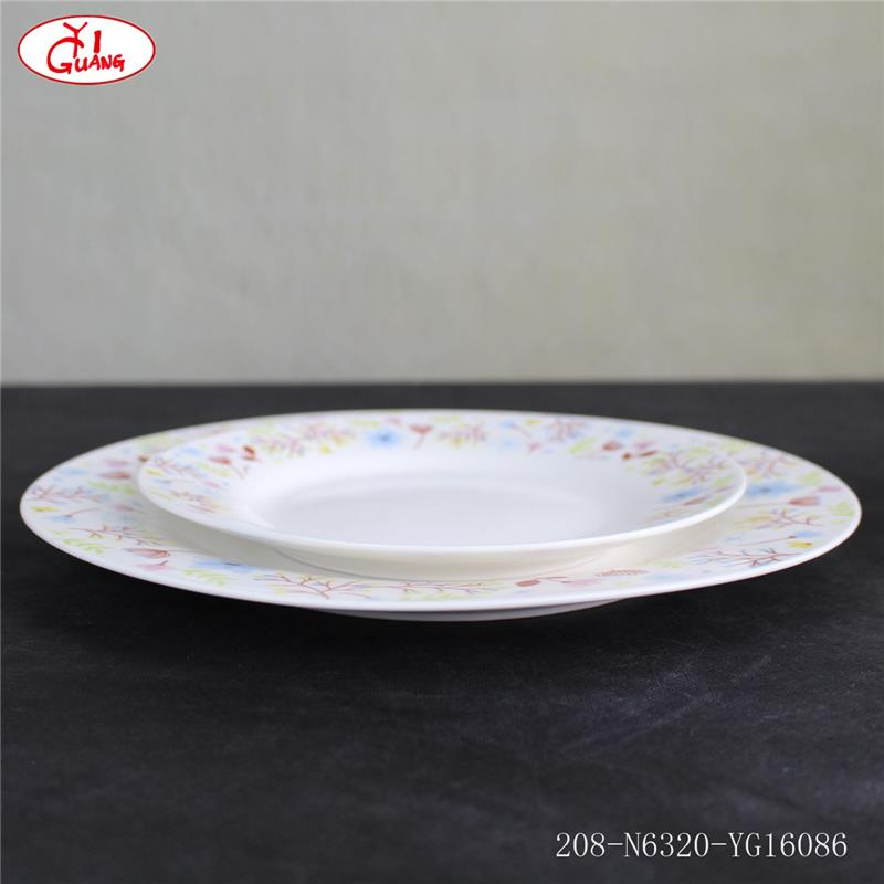 Wholesale dinnerware harmonia spain with carmine red flower pattern YG16086 & Wholesale Dinnerware Harmonia Spain With Carmine Red Flower Pattern ...