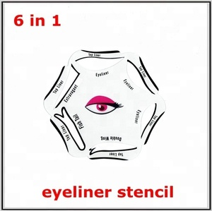 Eyeliner Stencil for Girl Makeup Beauty Eyeliner Smokey Eye Stencil Models Template Shaper Tool