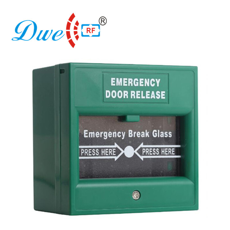 12V emergency breakglass exit button switch
