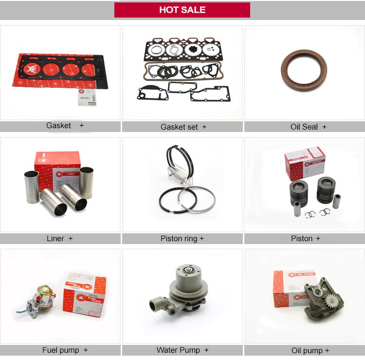 WMM Massey Ferguson 268 OEM U5LT0015 U5LT1014 Diesel Engine Sheet Gasket Trator Spare Parts Cylinder Head Gasket