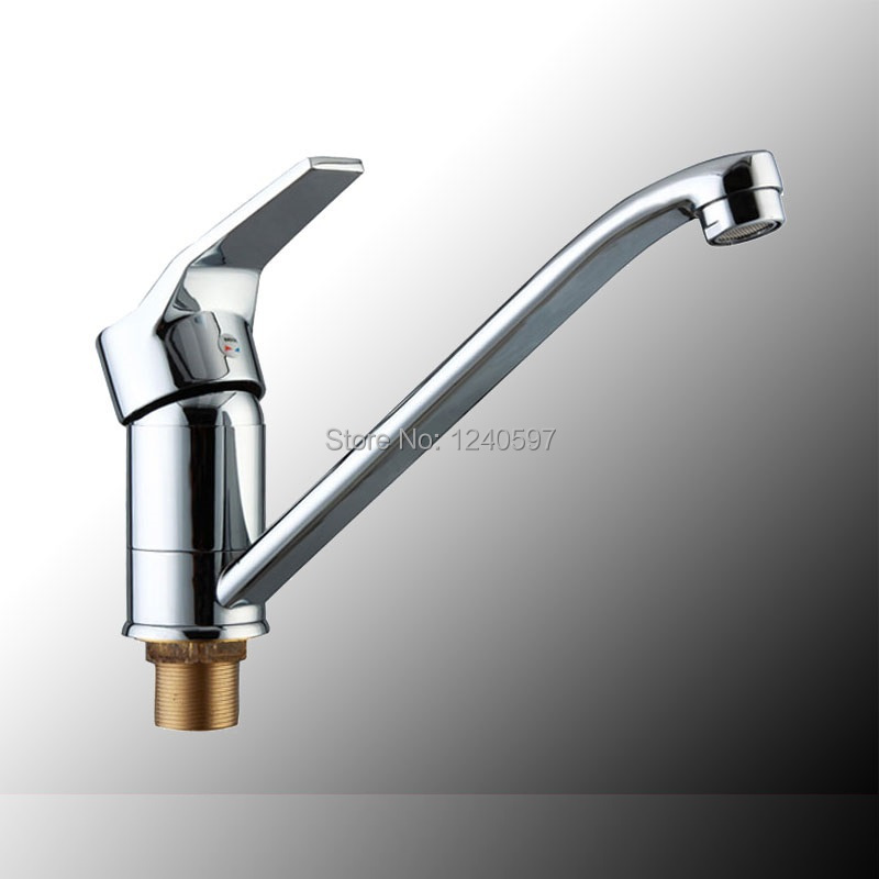 Copper Kitchen Faucet Sink Hot And Cold 360 Deg Rotary