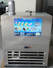 Commercial ice cream popsicle freezer ice lolly pop making maker machine