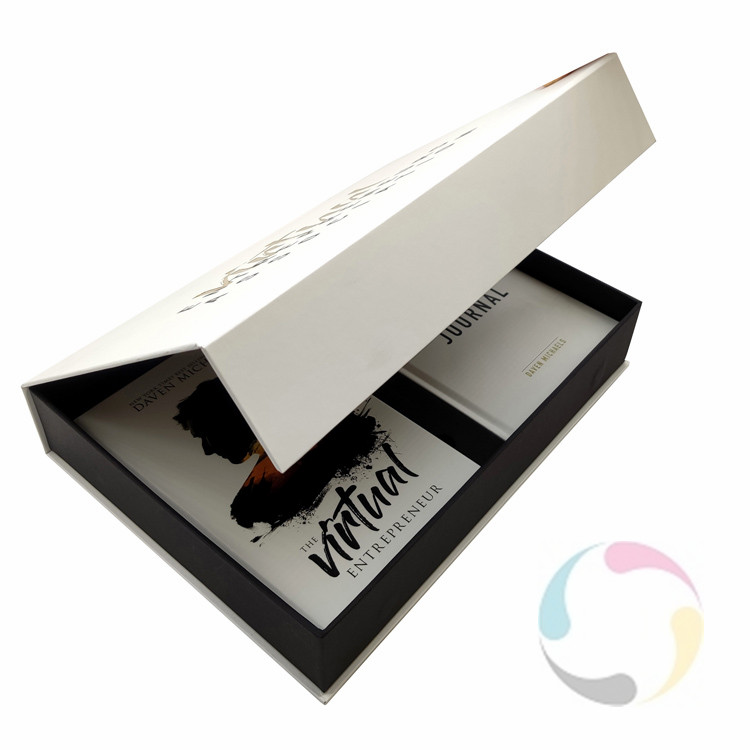 High quality hardcover book printing and packaging printing with soft touch lamination