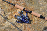 surefish wholesale fishing tackle high carbon spin rod and reel combo