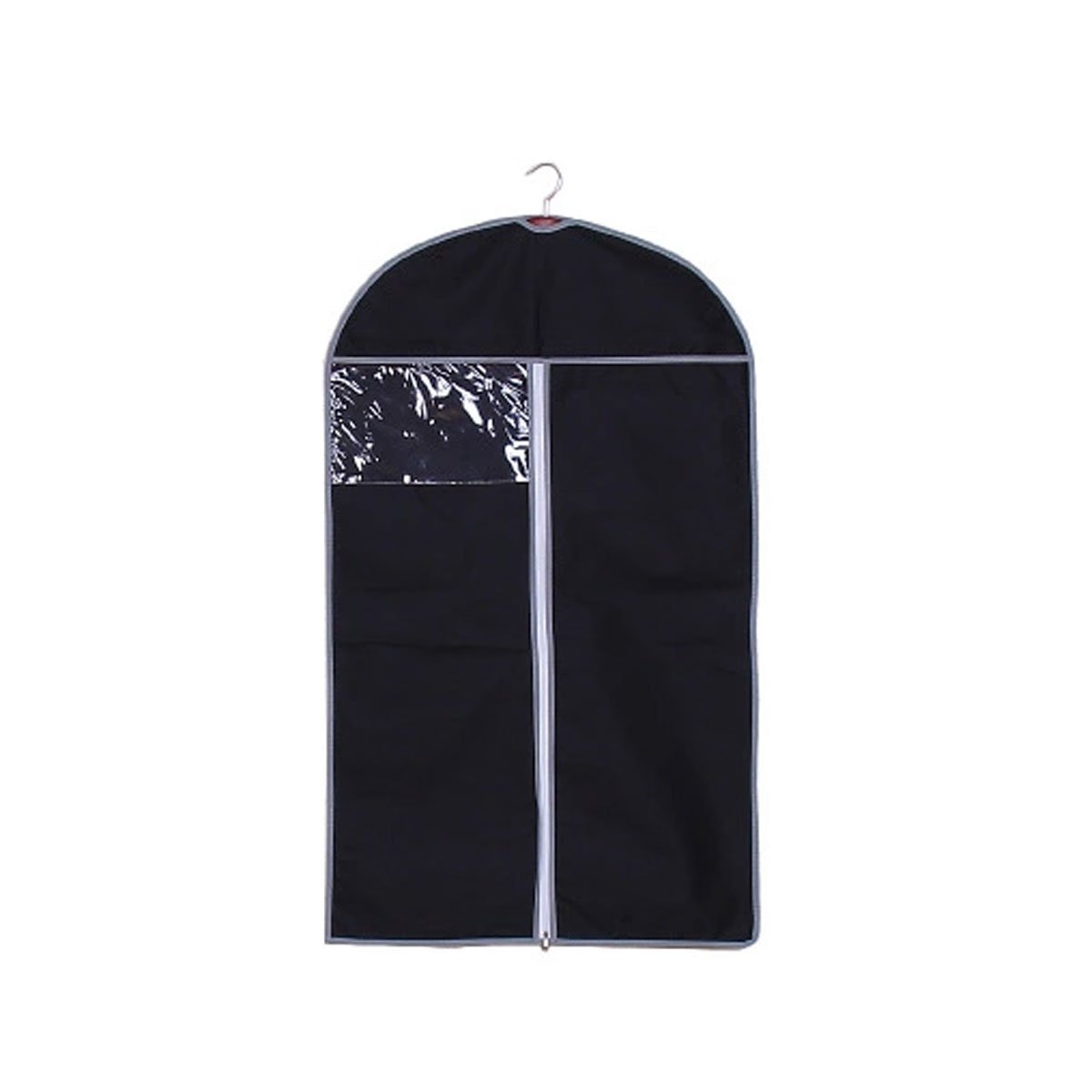Garment Suit Bag Covers for Luggage, Dresses, Linens, Storage or Travel with Clear Window,40 X 24 inch,Pack of 5