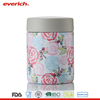 Everich 350ml Cute Stainless Steel Vacuum Insulated Lunch Box Food Jar