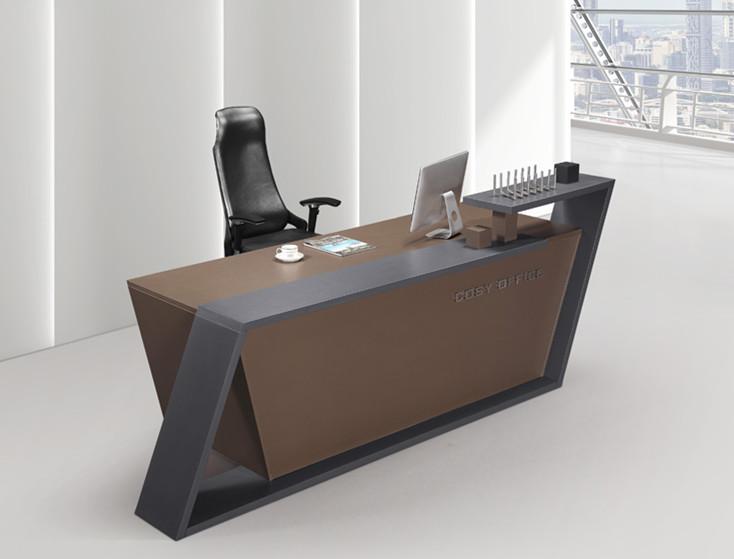 Bureaux d accueil de salon et moderne bureaux d accueil et courbe