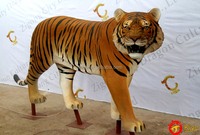 Simulation Animal tiger for zoo