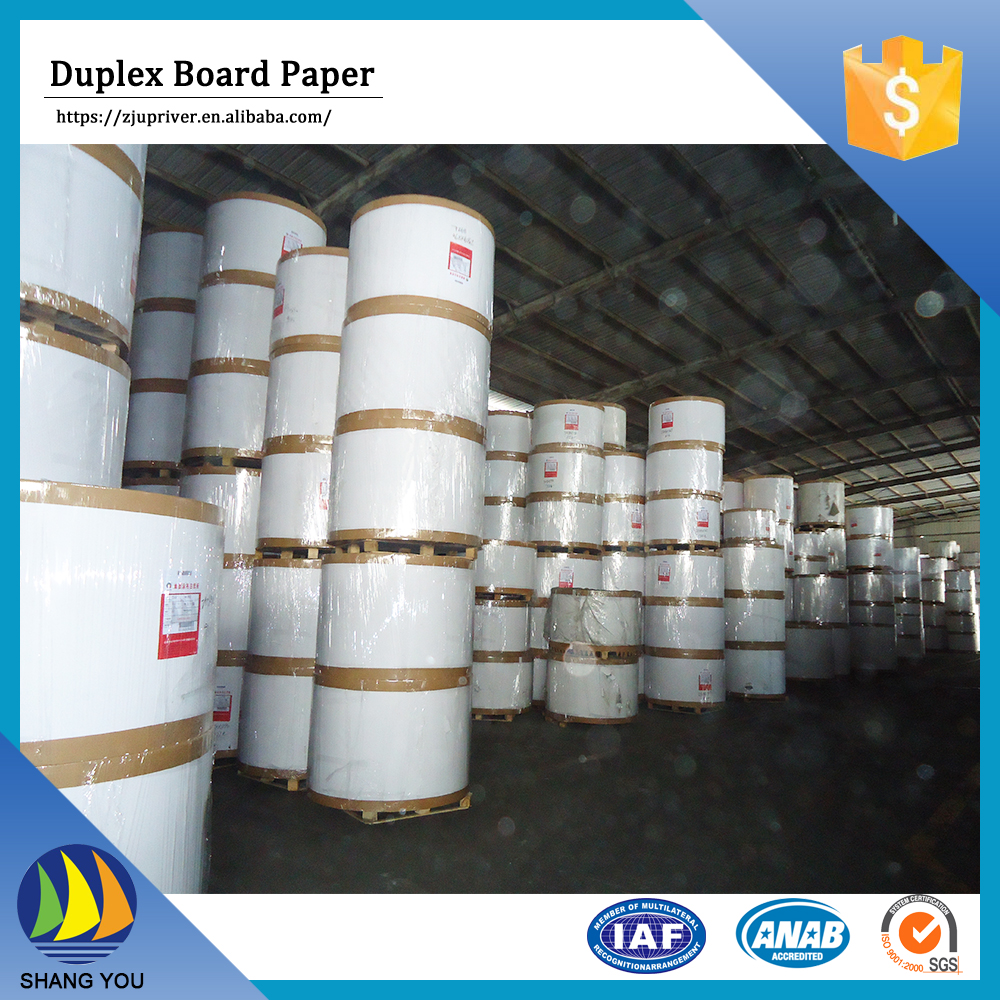 China wholesale a4 paper from china duplex board grey back