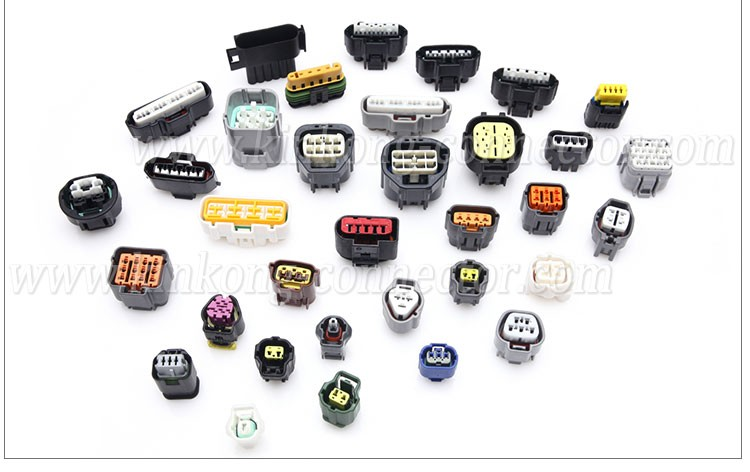 26 pin blade electrical connectors with tin plating 6473418-2 1473418-2