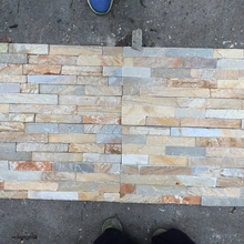 Upscale Erosion Resistance high quality natural ledge stone slate wall,strip culture stone