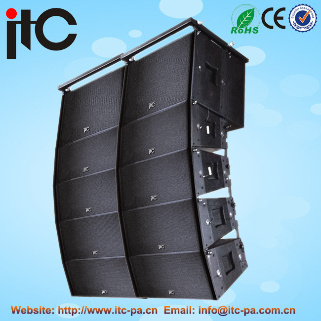 Active speaker line array sistema de som do palco de concertos ao ar livre