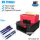 Best Quality a3 Size 6 Colors Digital uv Flatbed Printer for Pen